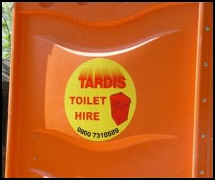 Tardis Toilet Hire