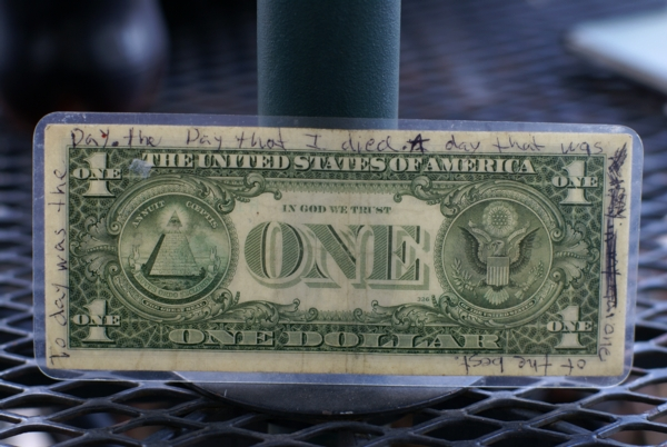Dollar of the Dead!