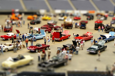 Car Show Fake Model